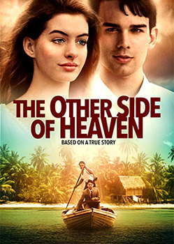 A thrilling and epic adventure starring Anne Hathaway and Christopher Gorham. When 19-year-old John Groberg is sent on a three-year mission to Tonga, he has no idea what he's getting into. Just getting to Tonga is fraught with danger and unbelievable obstacles. Once there, he finds himself in the midst of a culture as remote to him as the island is to his Idaho Falls home. Not understanding the language, and lonely for his fiancee, John faces suspicion, distrust, typhoons, tidal waves, mosquitoes, and other perils of man and nature as he reaches out to the people of Tonga. Filled with adventure, breathtaking scenery, and humor, THE OTHER SIDE OF HEAVEN is a coming-of-age film your whole family will enjoy.