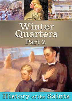 Life in Winter Quarters: By late Fall of 1846, most of the LDS were digging in for the winter in settlements along the Missouri River. Winter Quarters on the west bank was literally a wilderness refugee camp filled with thousands. As winter deepened survival became of paramount concern. Thanks to the journals of those who were there, a rich history of Winter Quarters has survived giving us a glimpse of what life was like in the winter of 1846-47.