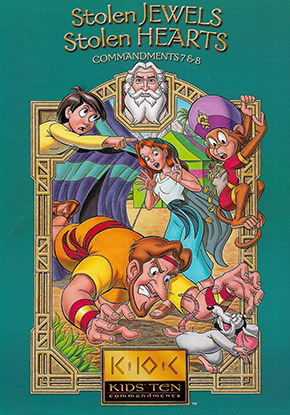 Kids 10 Commandments - Stolen Jewels, Stolen Hearts