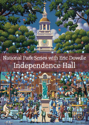National Park Series with Eric dowdle: Painting Independence Hall