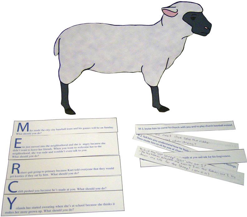 Lost Sheep Activity