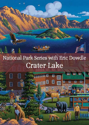 National Park Series with Eric Dowdle: Painting Crater Lake