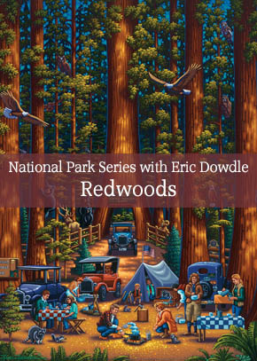 National Park Series with Eric Dowdle:  Painting the Redwoods