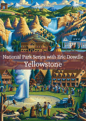 National Park Series with Eric Dowdle: Painting Yellowstone