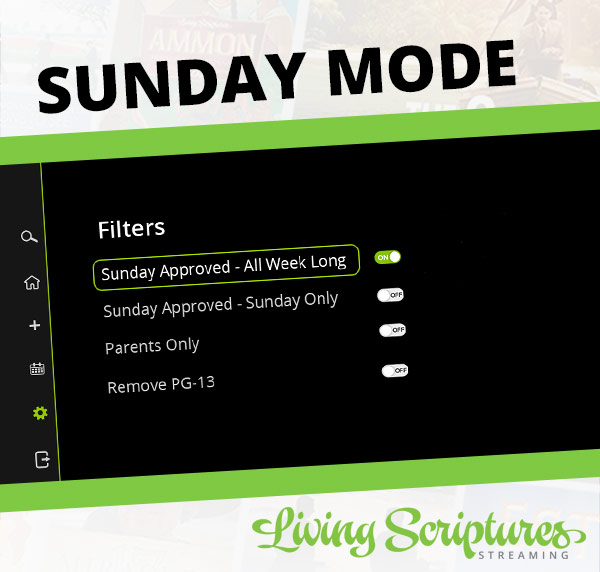 New Feature: Sunday Mode